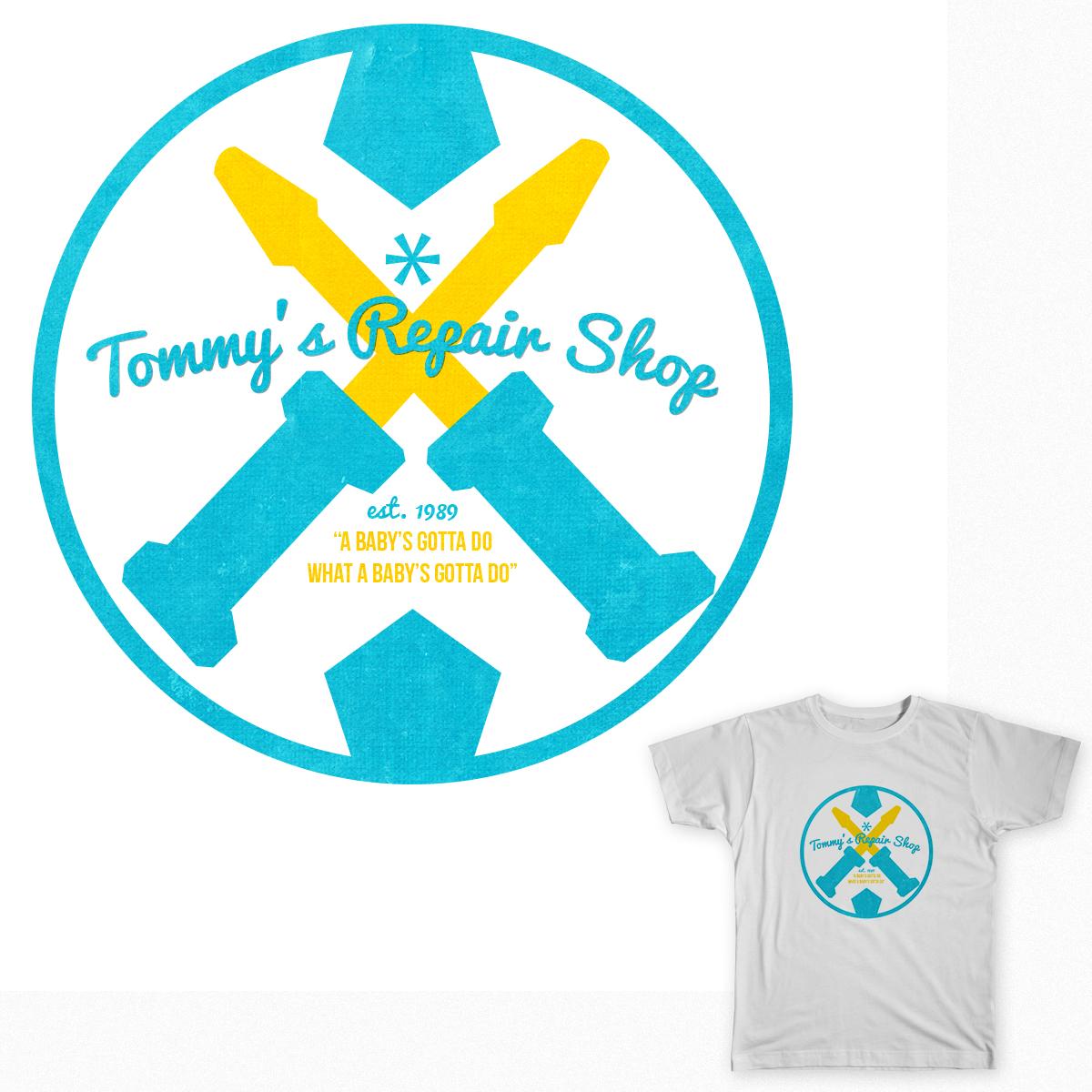 Tommy's Repair Shop by tifftcn on Threadless