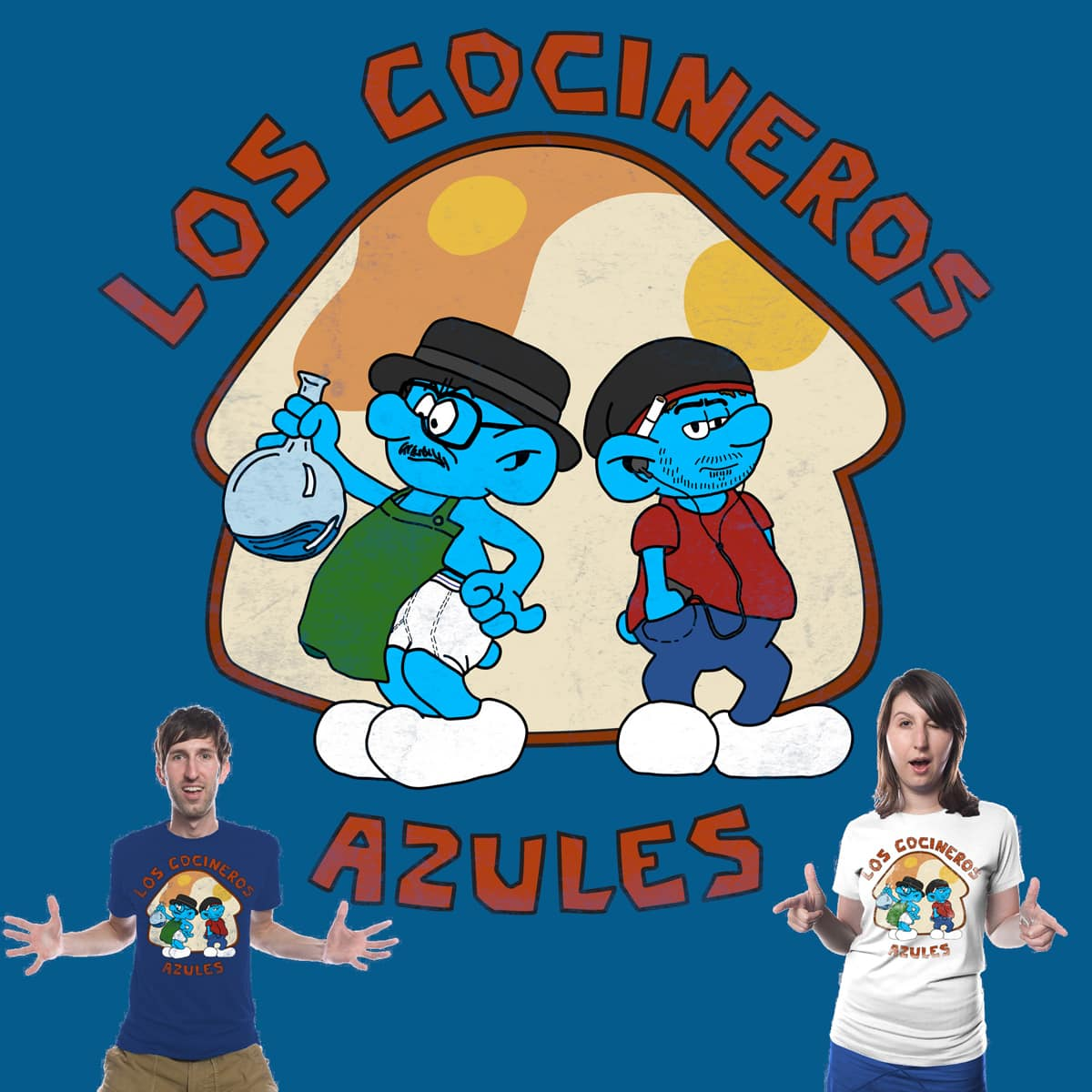 The Blue Cooks by Mollybu on Threadless