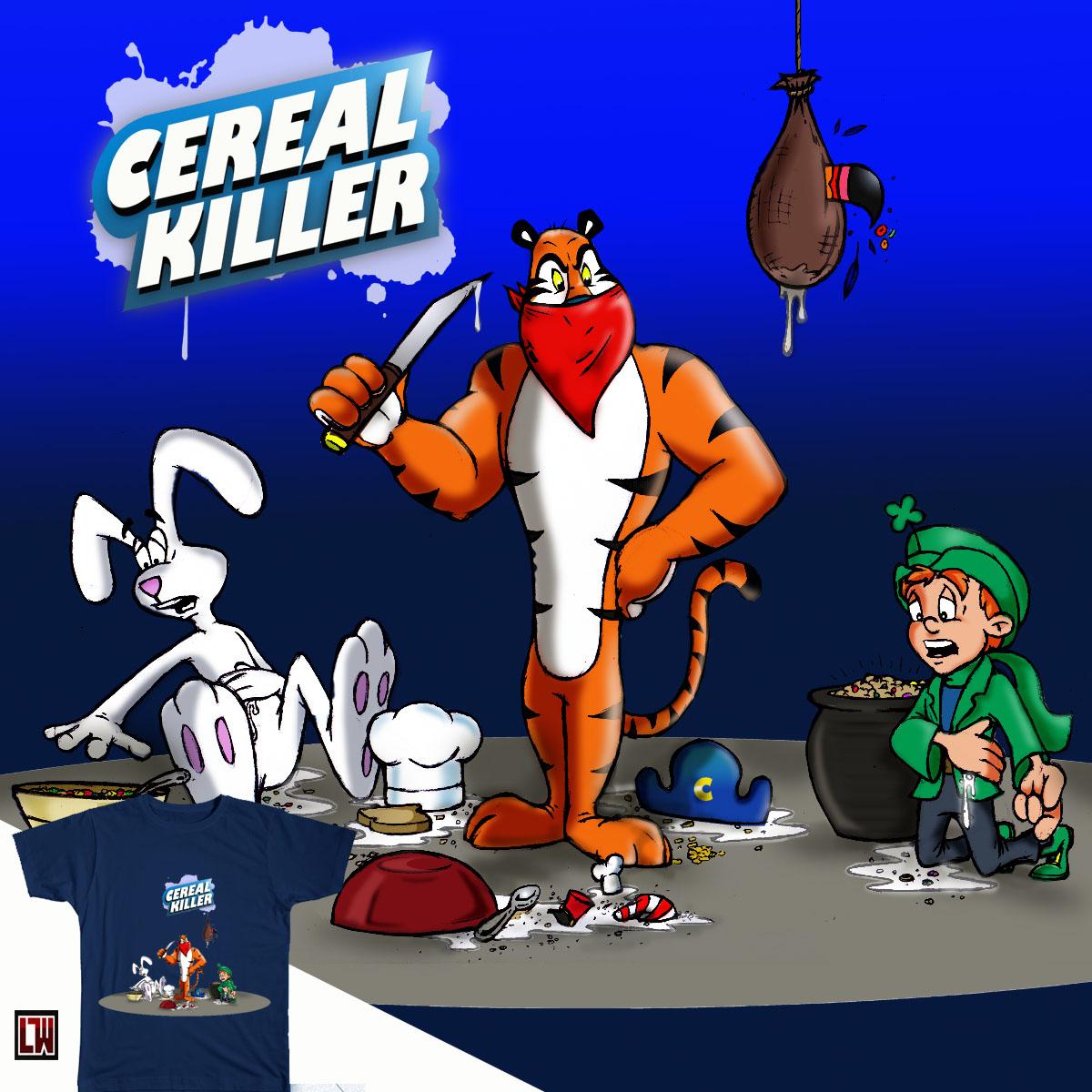 Cereal Killer by cartoon1 on Threadless