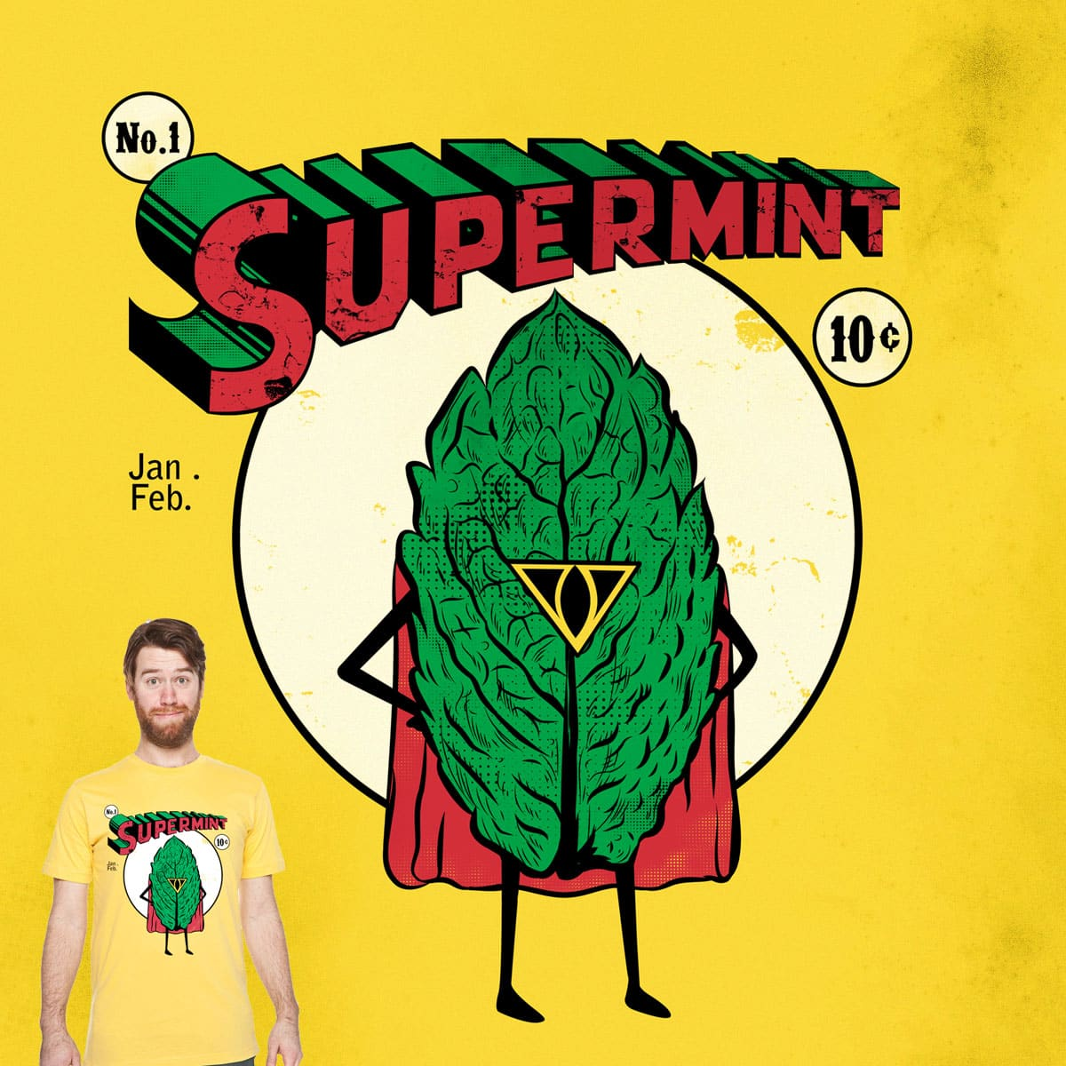 SUPERMINT by mainial on Threadless