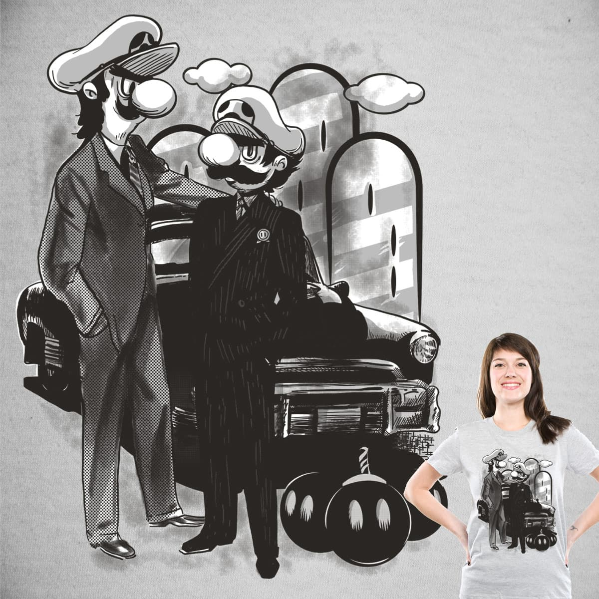 M for Mafia by Gums. on Threadless