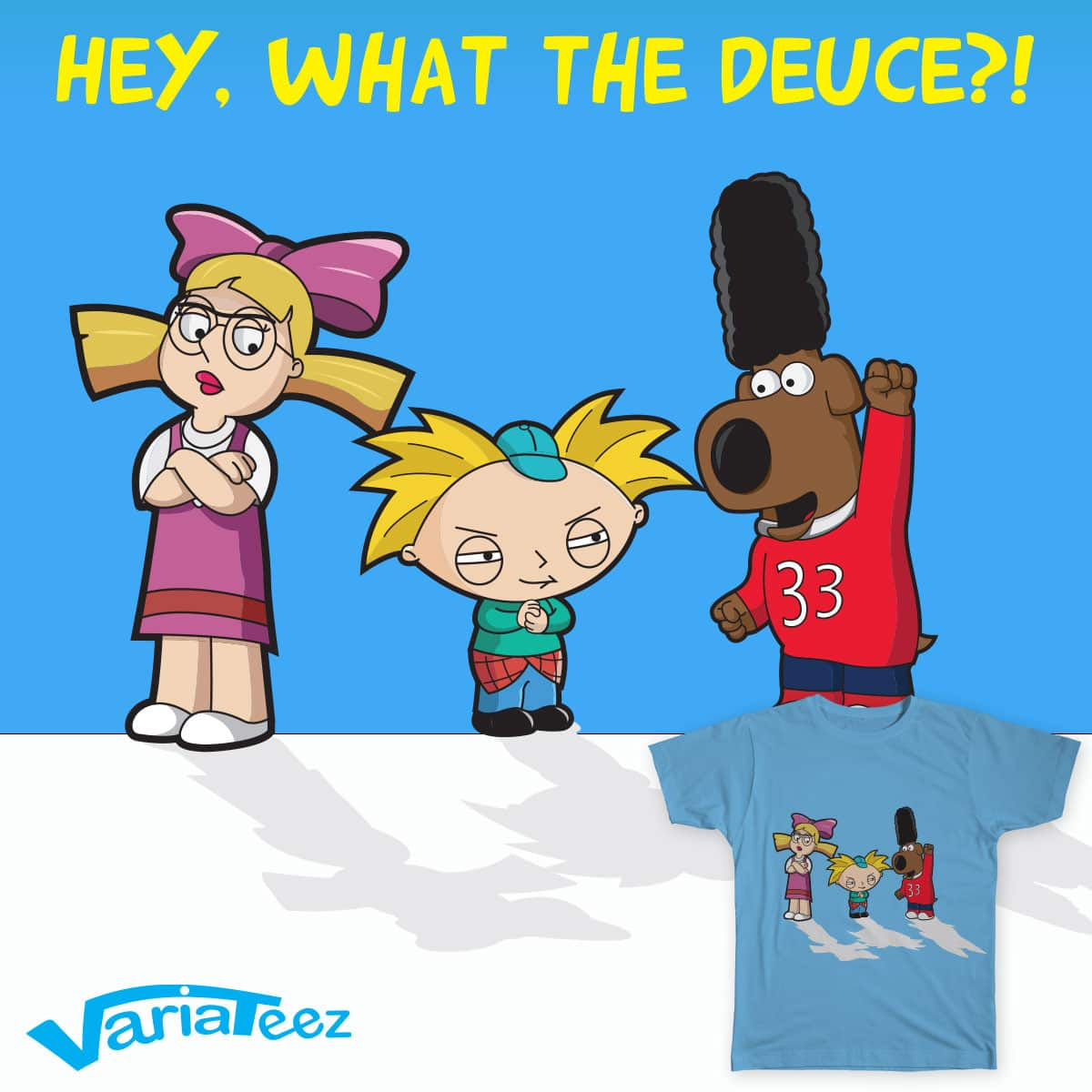 Hey, what the deuce?! by VarieTeez on Threadless
