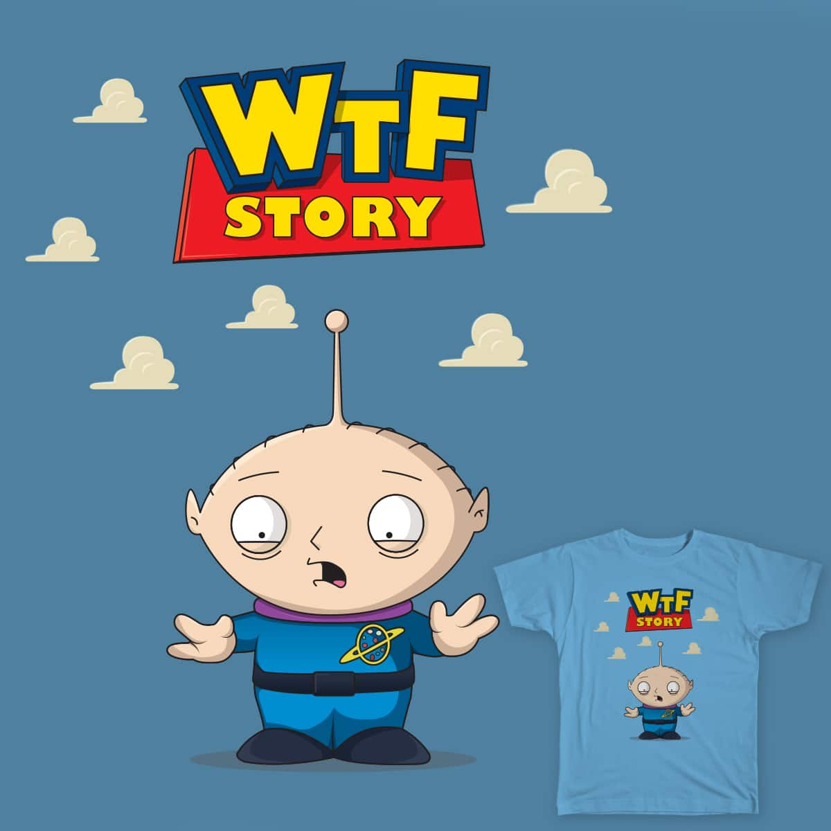 WTF Story by dvega20 on Threadless