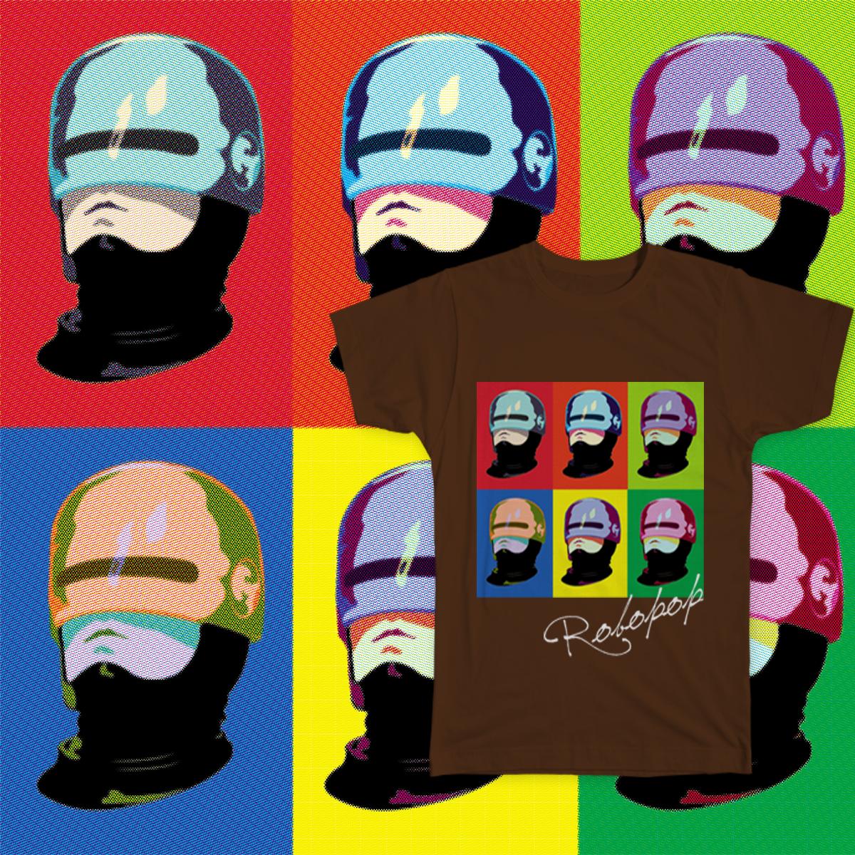 RoboPoP by maissani on Threadless
