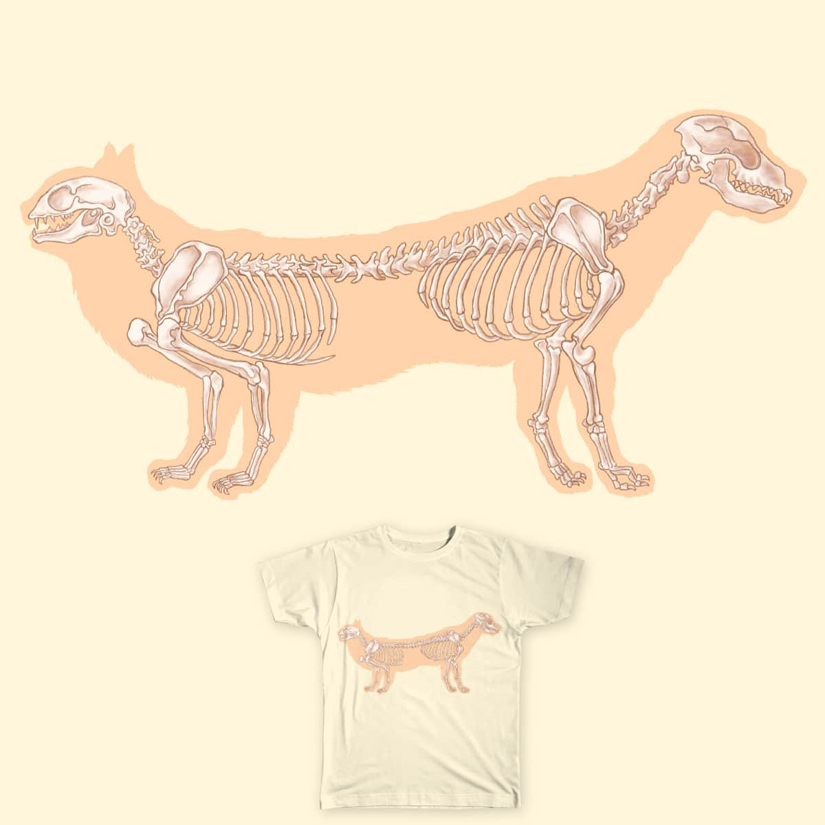 Score CatDog: An Anatomy by Lemonadeproject on Threadless