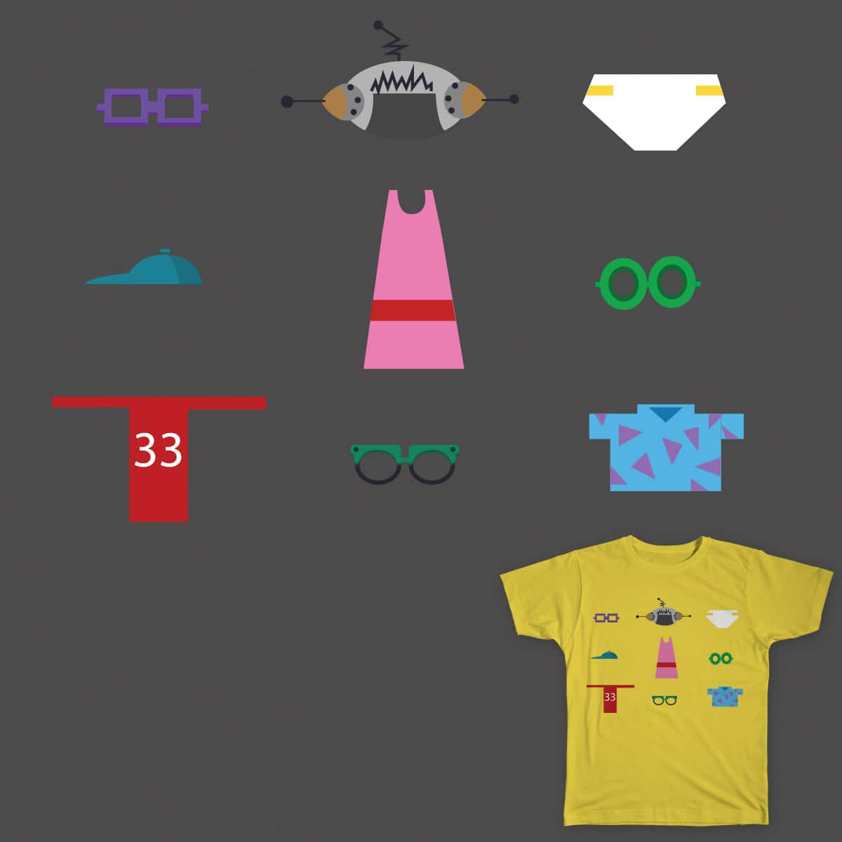 90's Swag  by lariart on Threadless