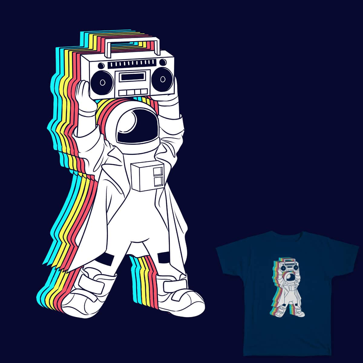 Say Funkalicious by whiskysteaks on Threadless