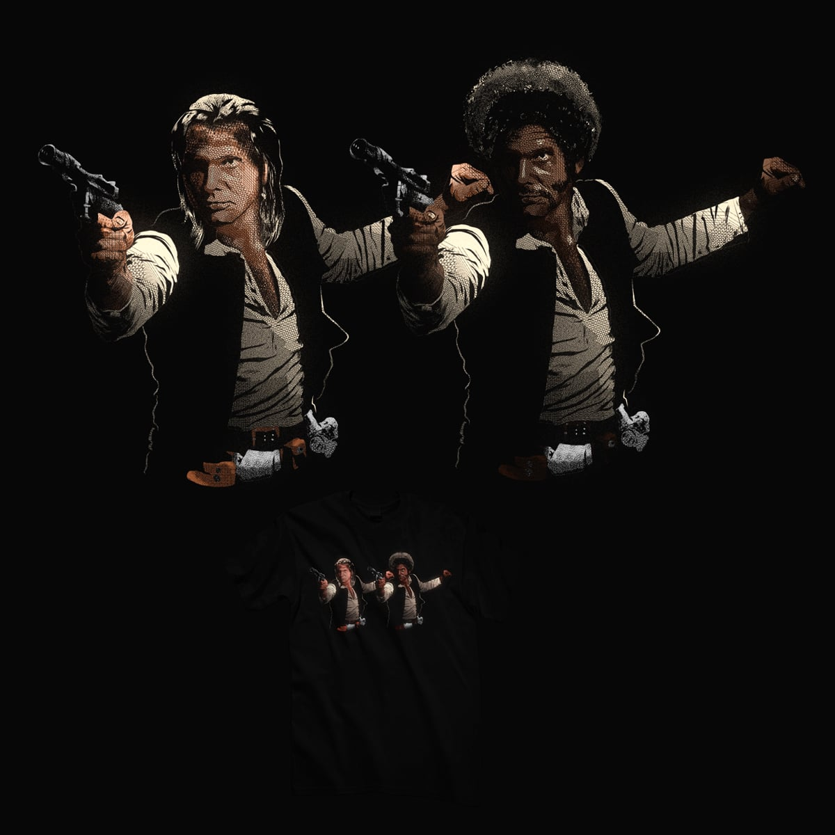 Han Duo by kooky love on Threadless