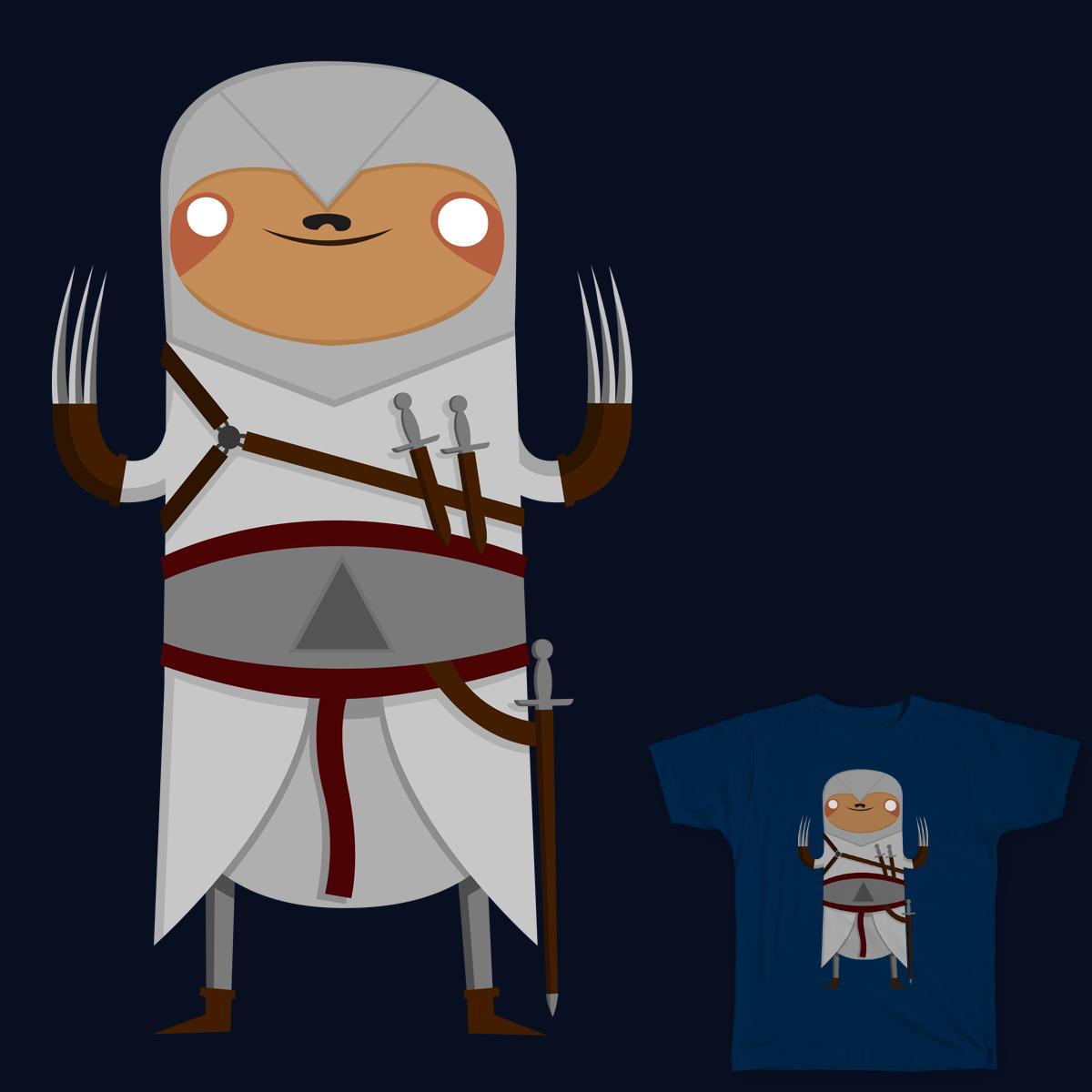 Assassin Sloth by BakusPT on Threadless