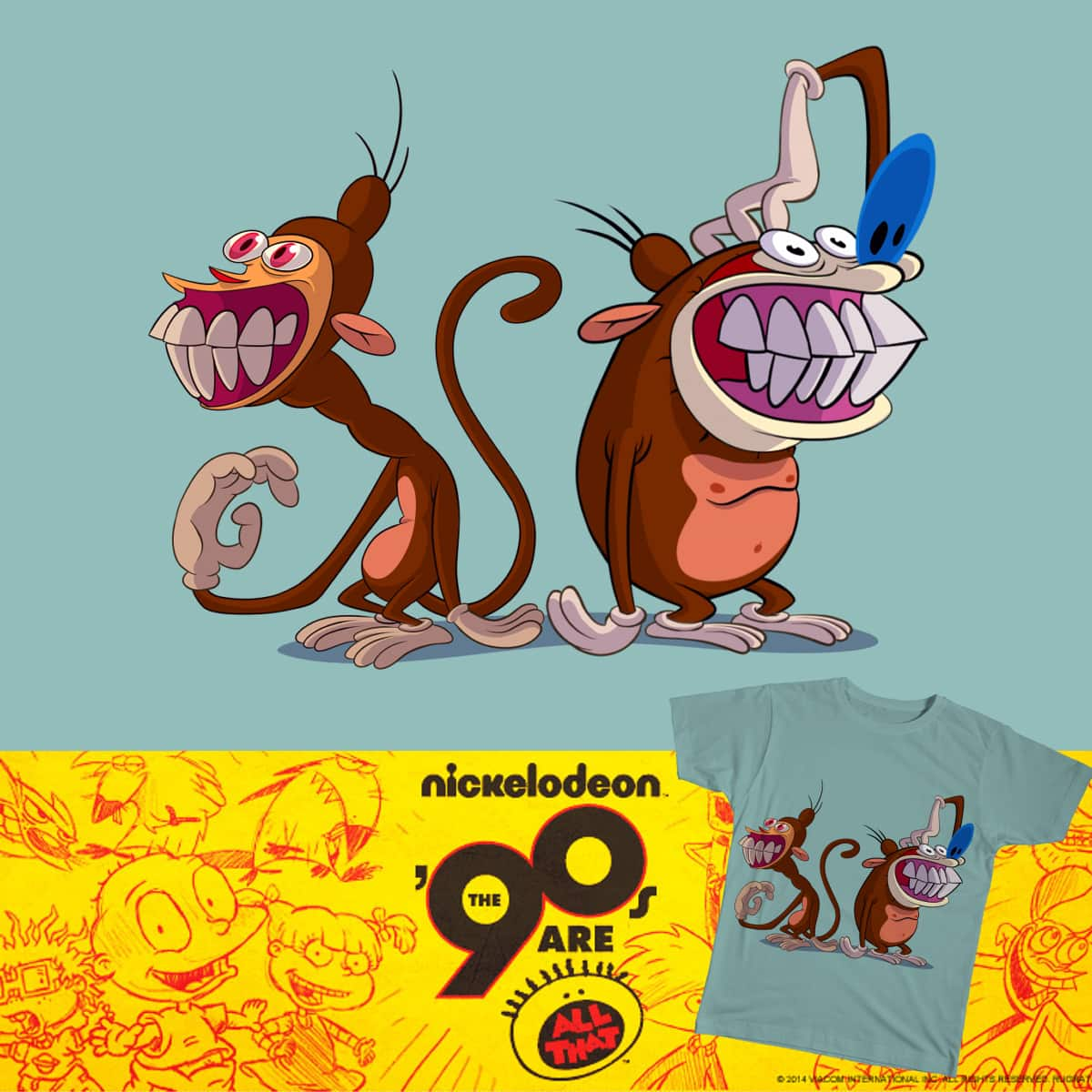 I'm Gonna Be a Monkey! by CHINKO! on Threadless