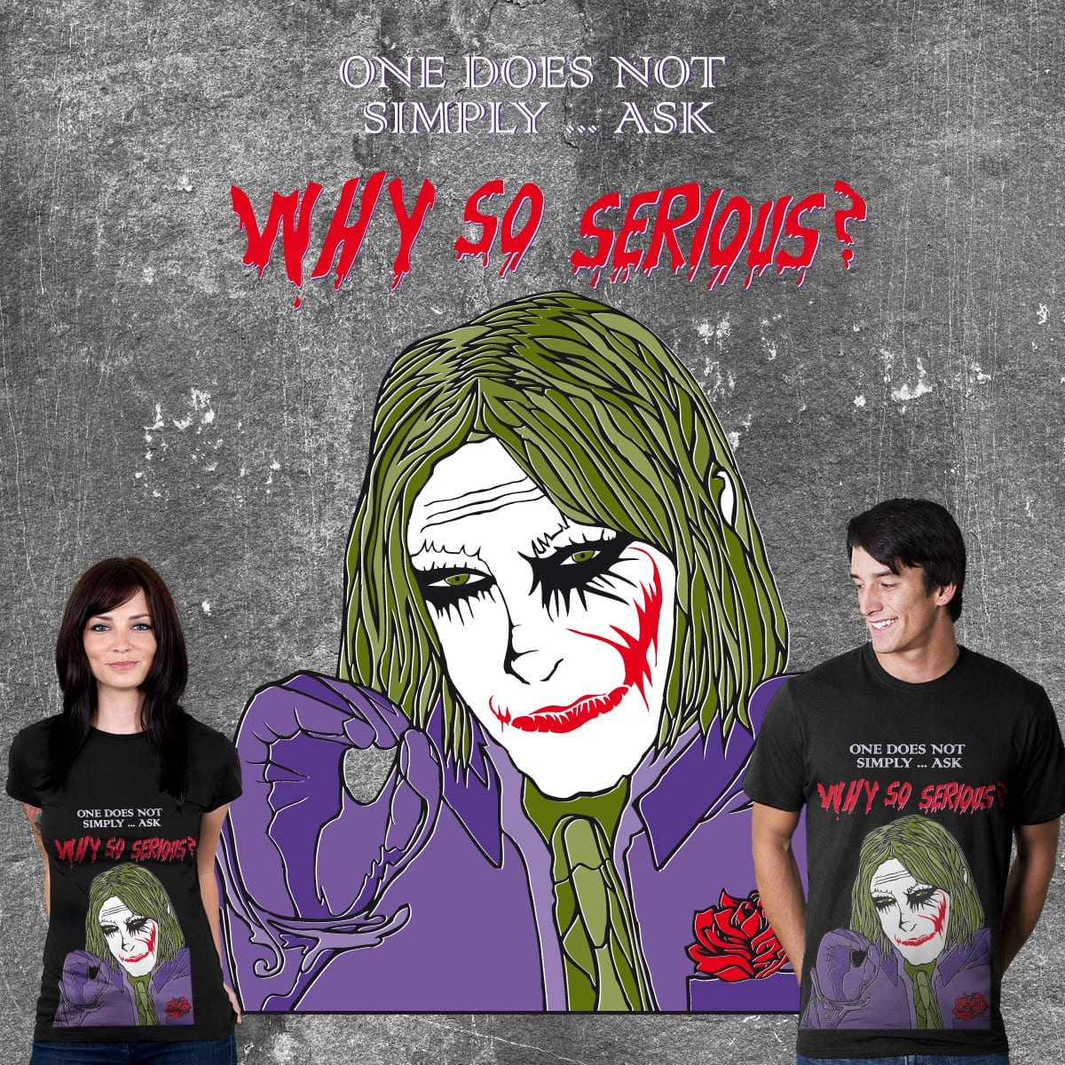 Why So Memey by Whipbot on Threadless