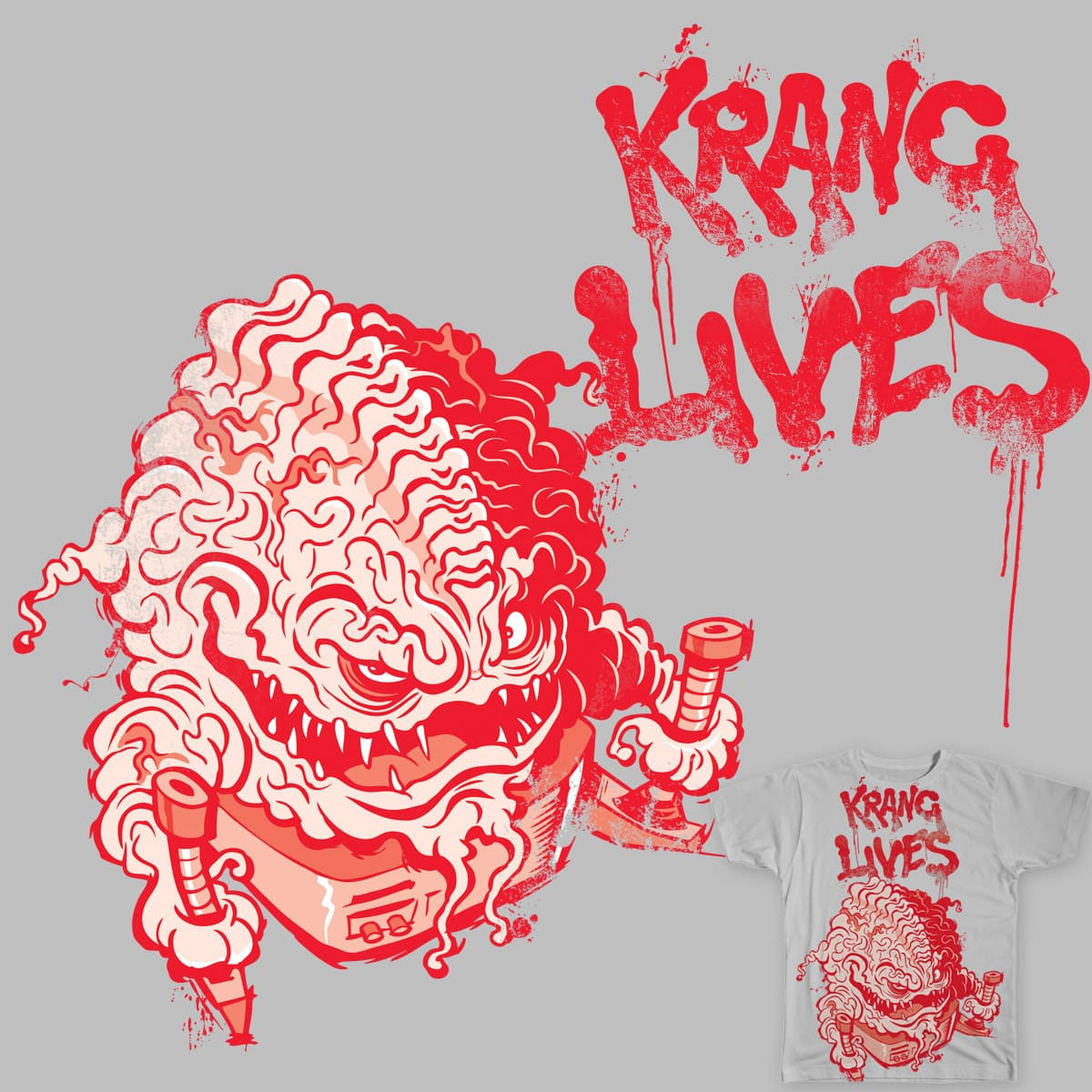 KRANG LIVES! by Figzy8 on Threadless