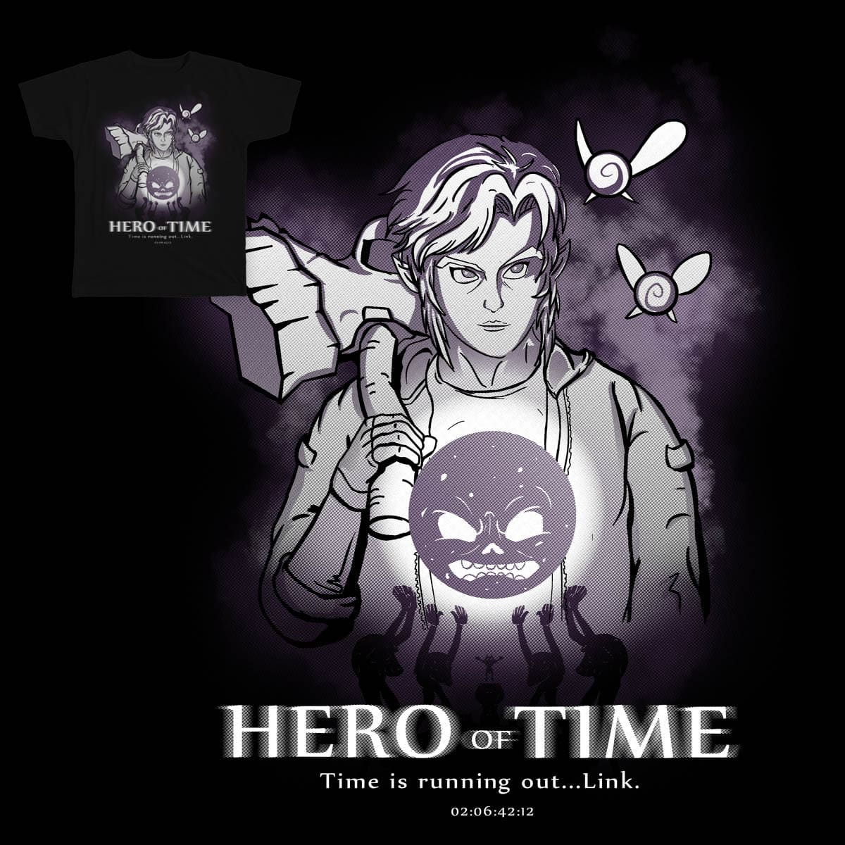Hero of Time by carlos.gil.18 on Threadless
