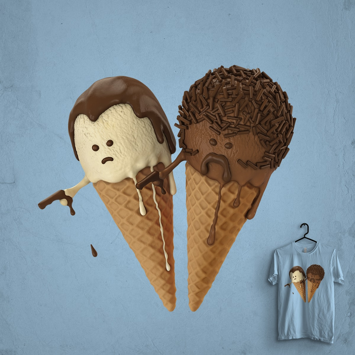 Pulp Cream by idilek on Threadless