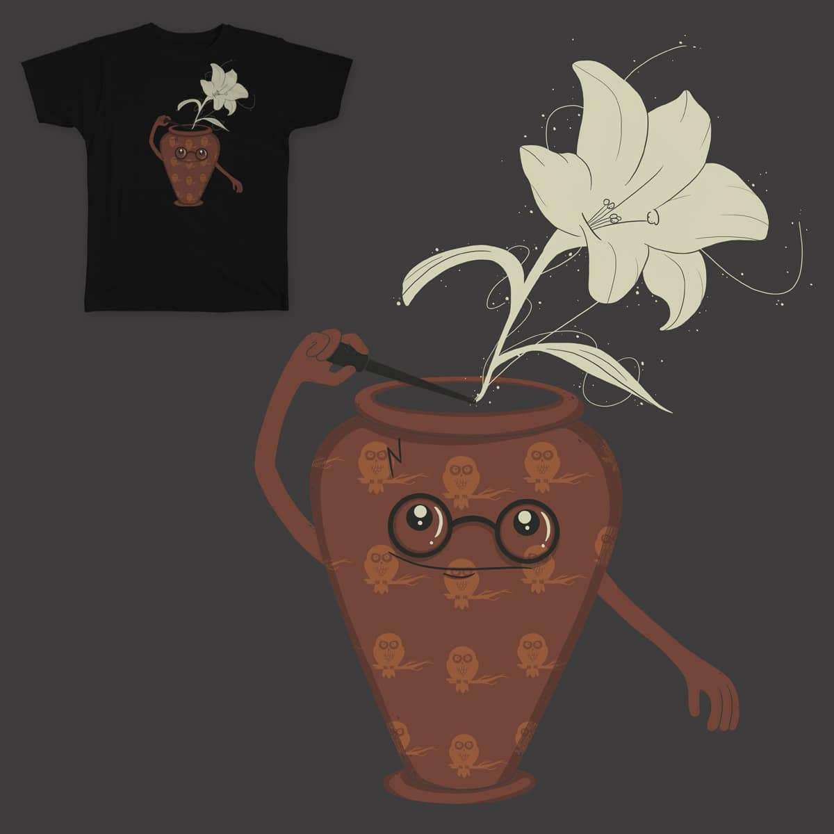 Harry Pottery by spookylili on Threadless