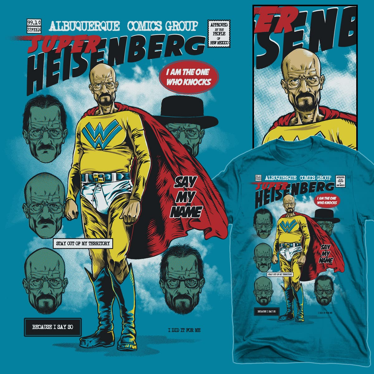 Super Heisenberg by RicoMambo on Threadless