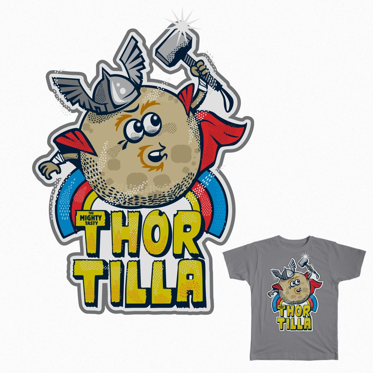 Thortilla!!! by damichi75 on Threadless