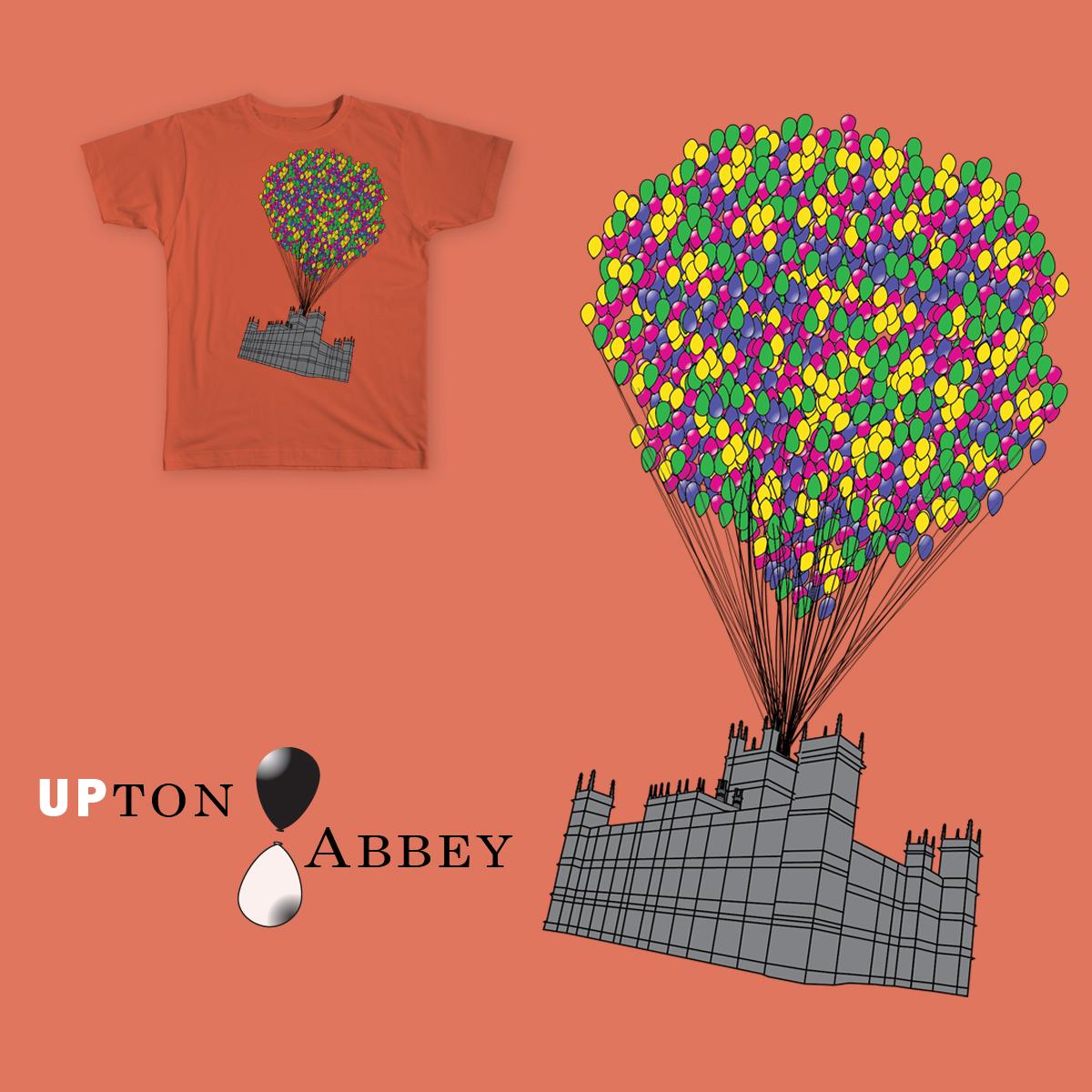 UPton Abbey by ceddyrichman on Threadless
