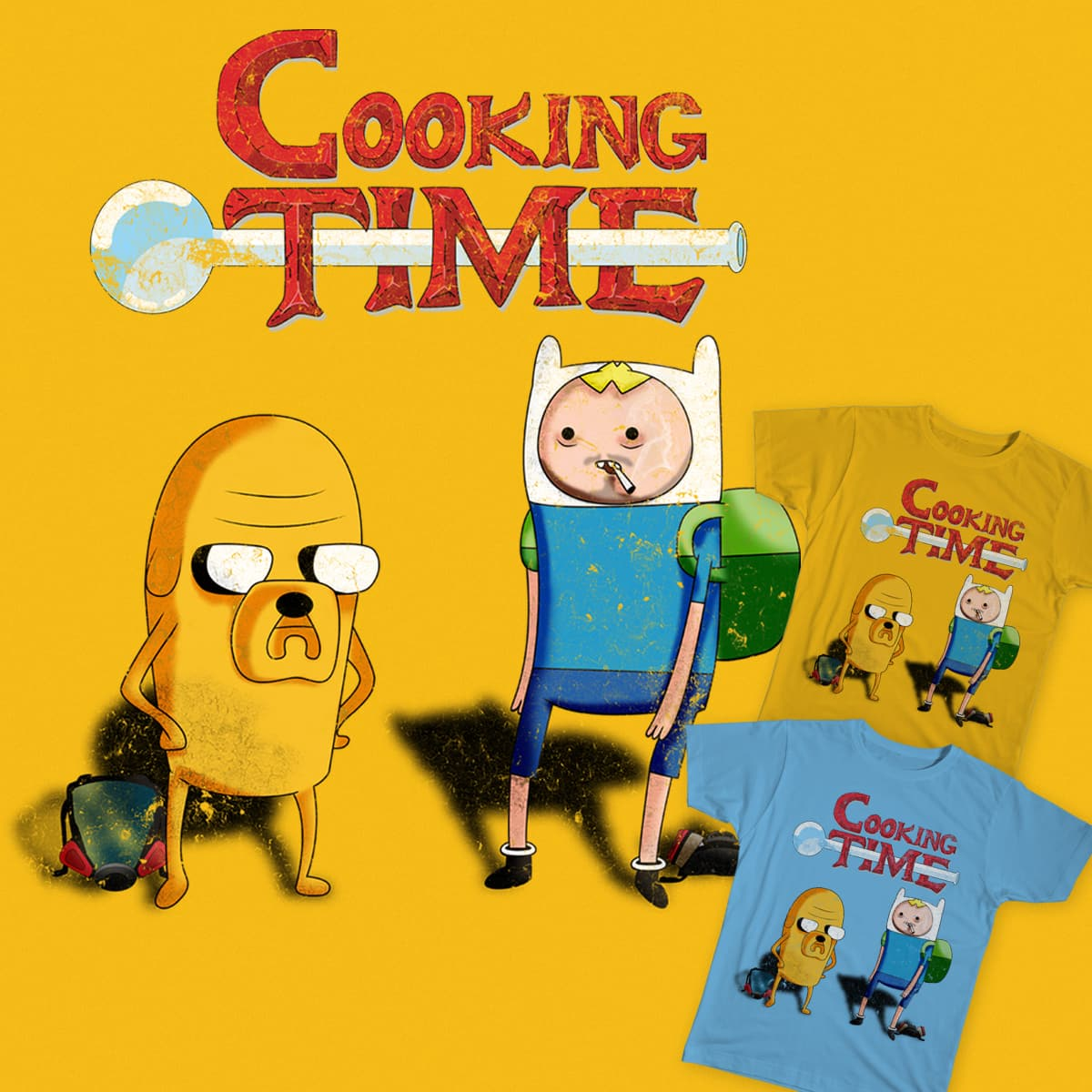 Cooking Time by Kaitos on Threadless