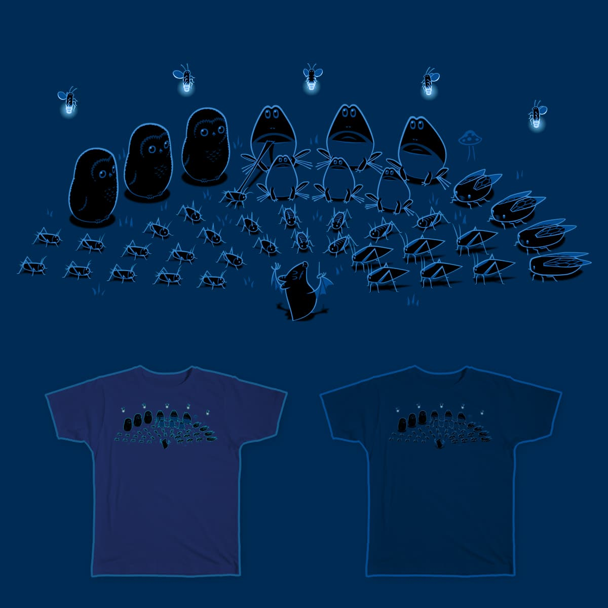 Nighttime Symphony II by ALEJANDR0ID on Threadless