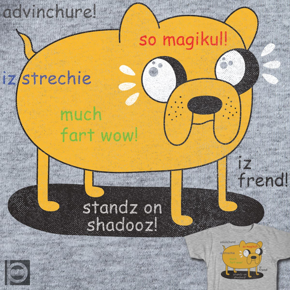 MUCH FRIEND, WOW! by BeanePod on Threadless