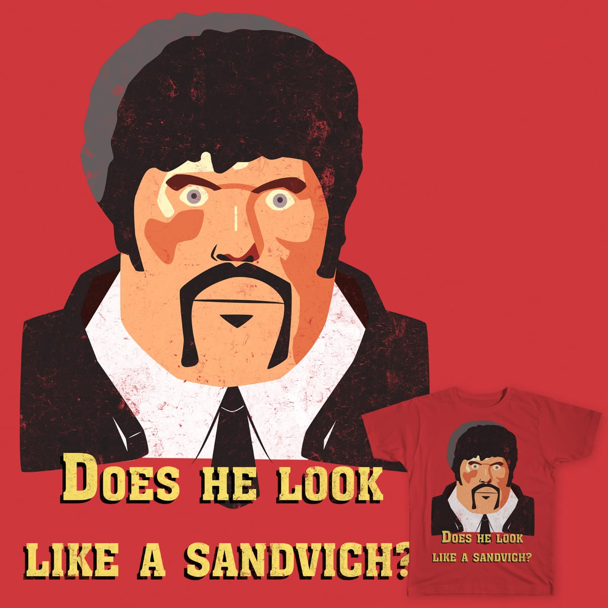 Does he look like a sandvich? by Kaitos on Threadless