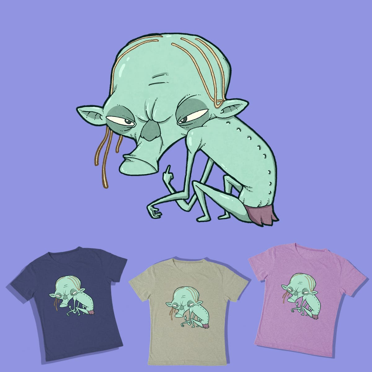 Gollum loves you by lost-angel-less on Threadless