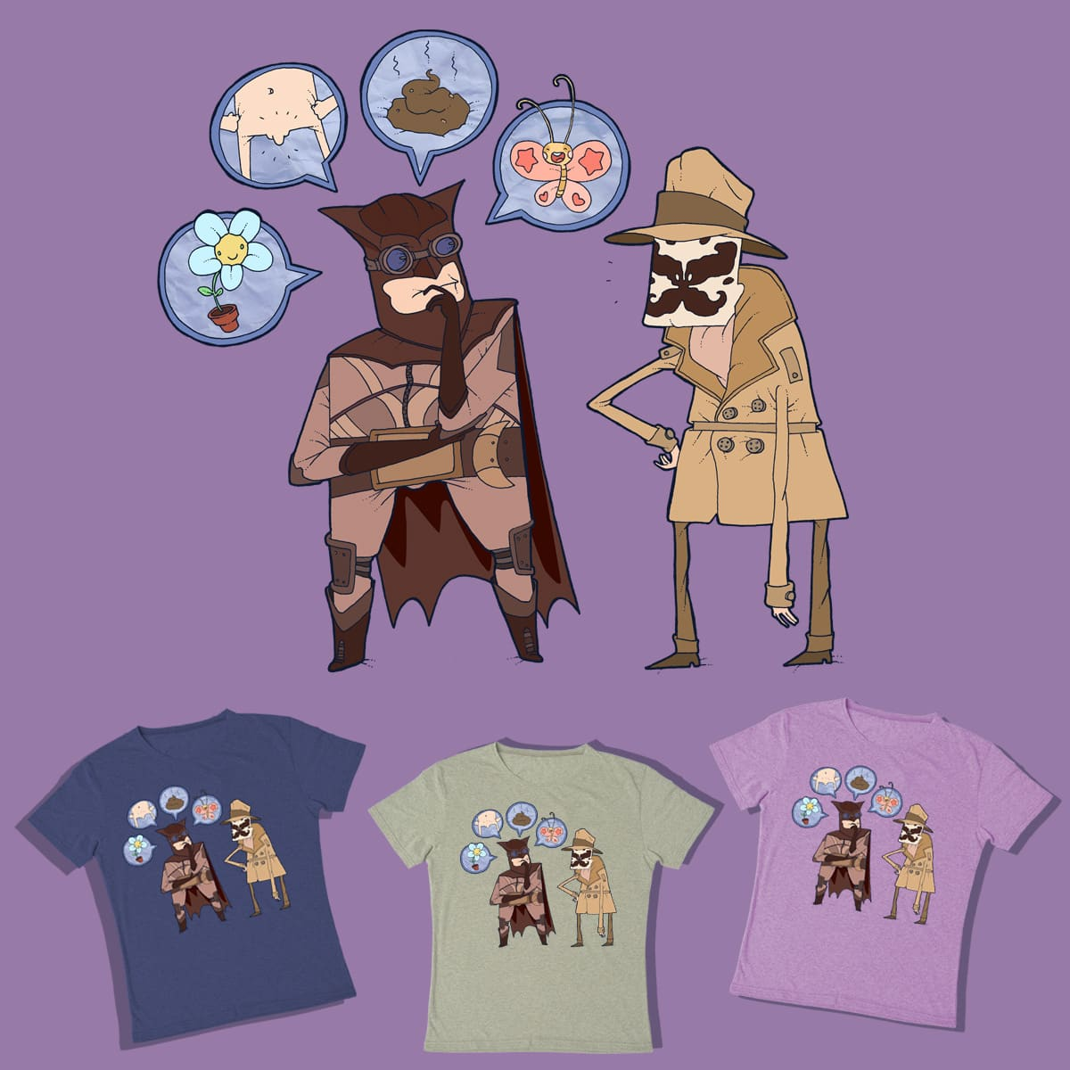 Rorschach Test by lost-angel-less on Threadless