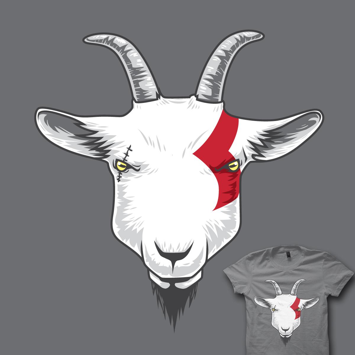 Goat of War by Angga Ang on Threadless