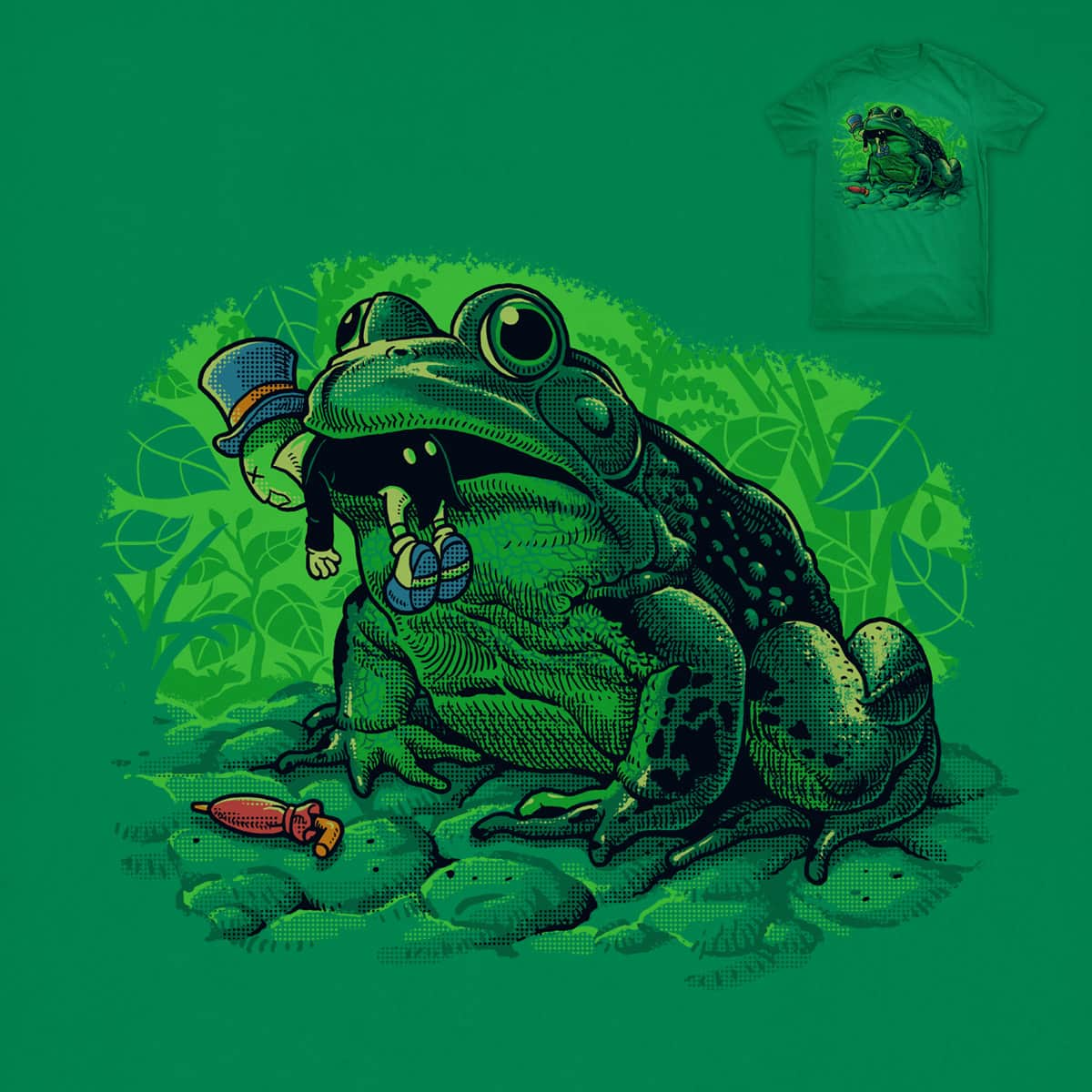 Frog Food by ben chen on Threadless
