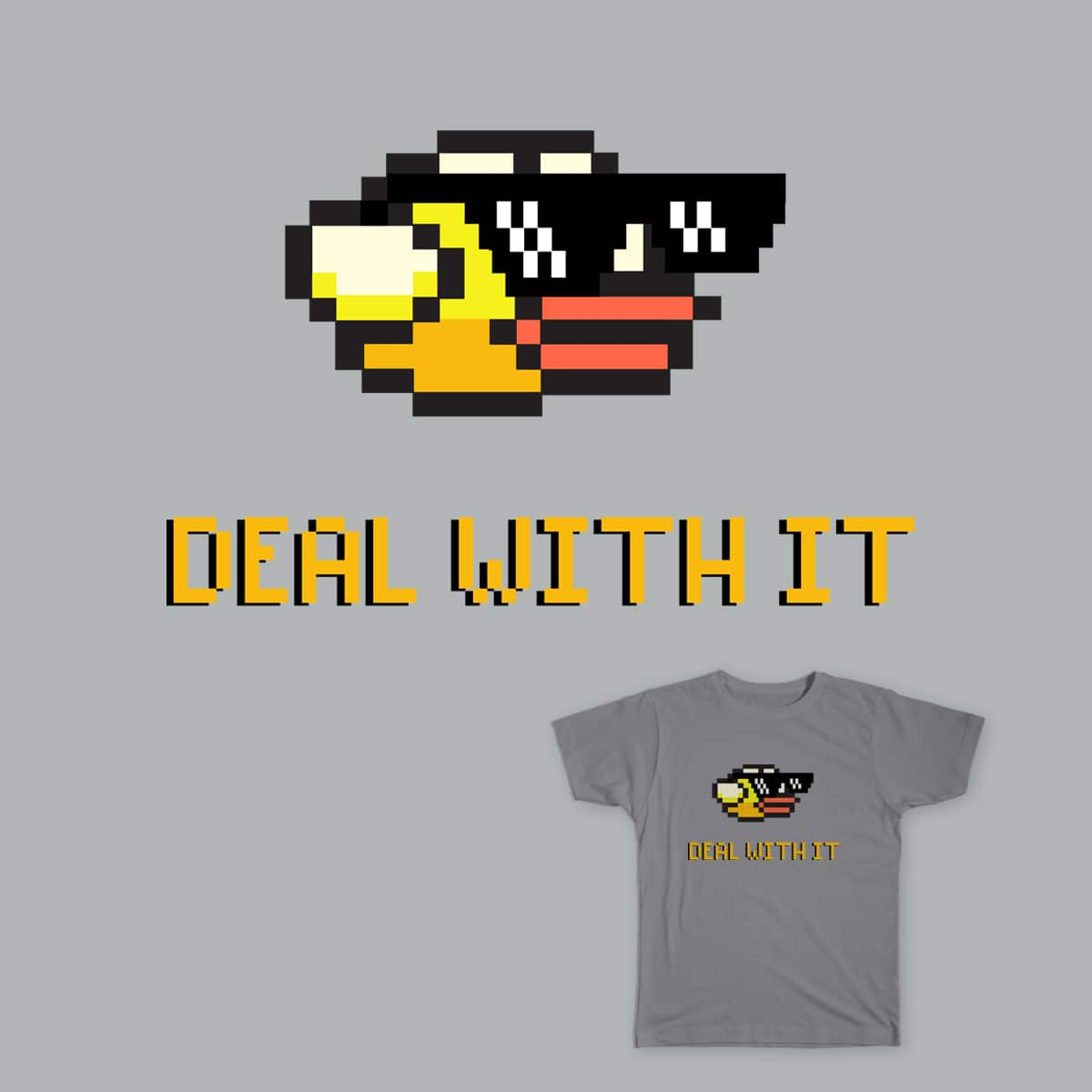 Deal with Flappy Bird by Siam89 on Threadless