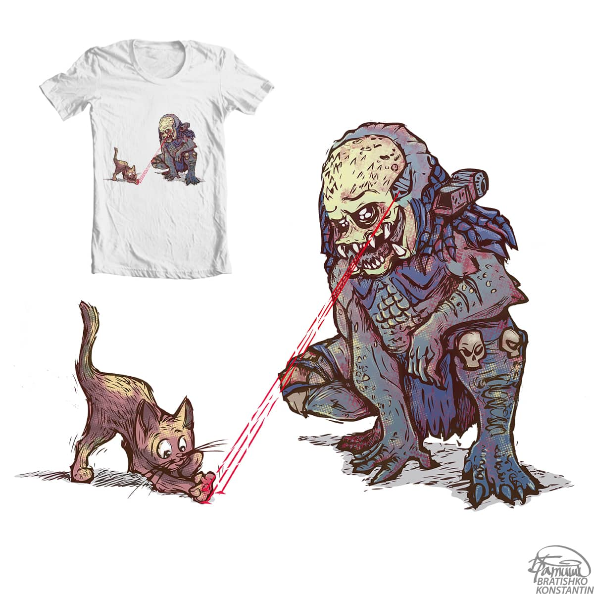 lazer games by KONSTANTIN BRATISHKO on Threadless