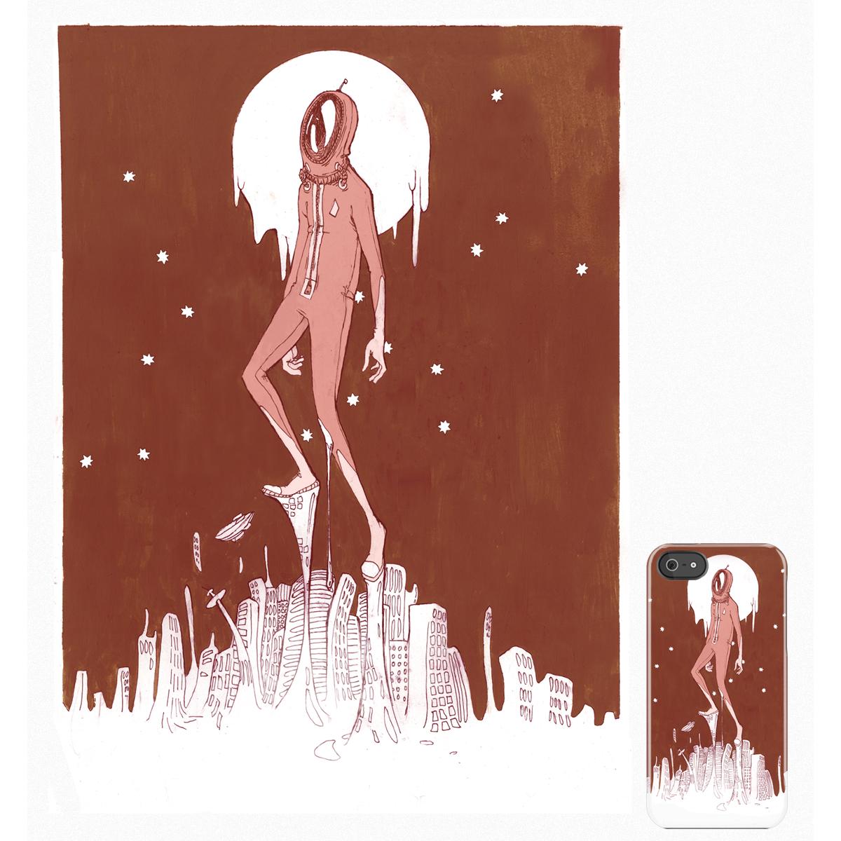 The Walker by maddyffffusco on Threadless