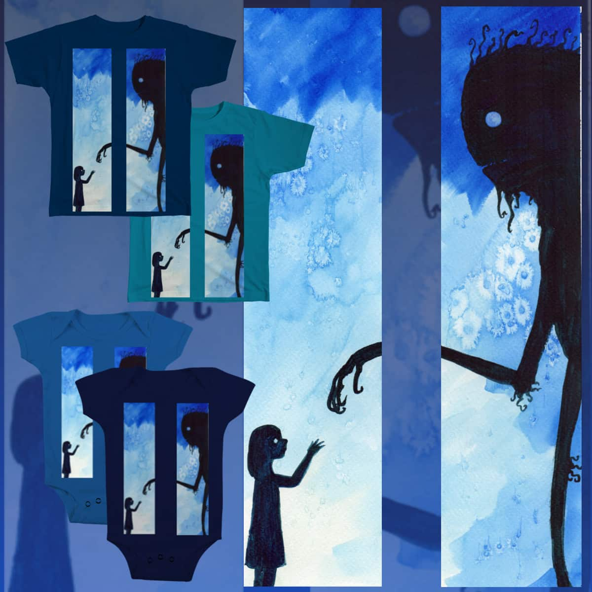 Blue Touch by DandyAnge on Threadless
