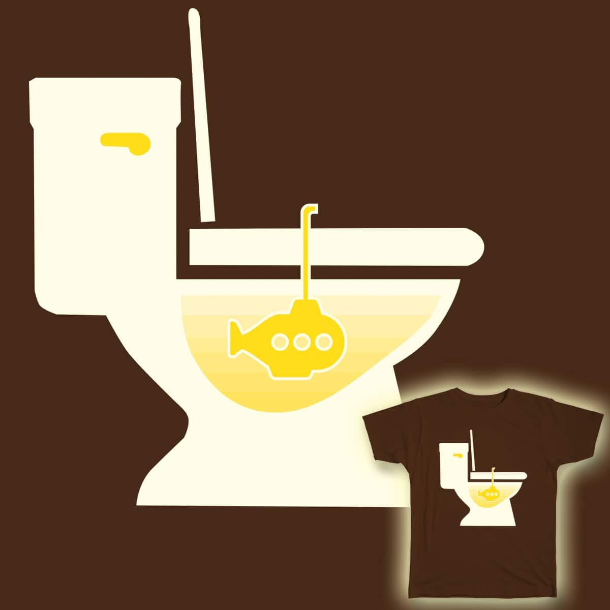 Yellow Submarine by jenhines78 on Threadless