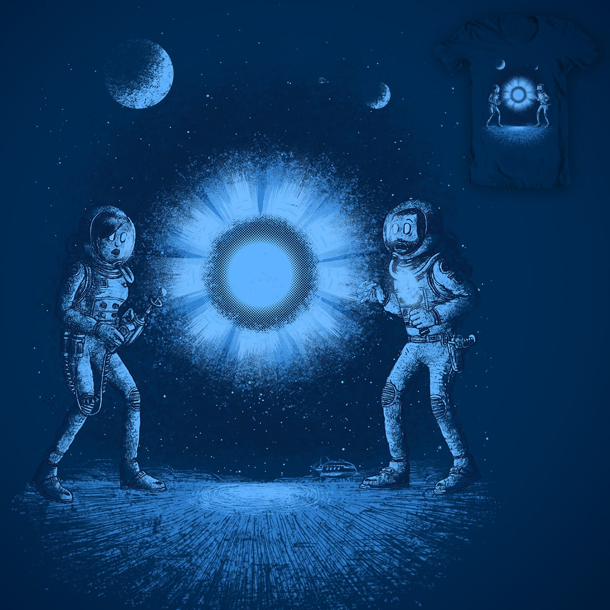 That blue space thingy by c-royal on Threadless