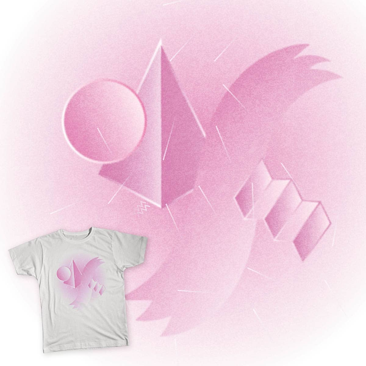 Abstract pink by jeanpaulvsrartr on Threadless