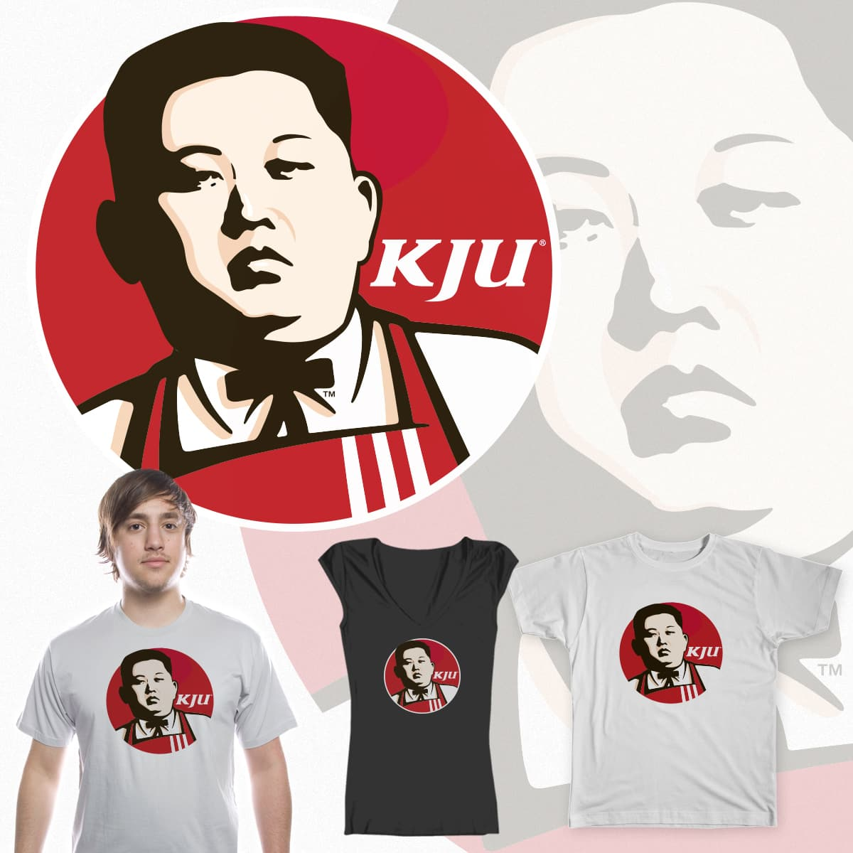 COLONEL KIM JONG-UN by elnidodesign on Threadless