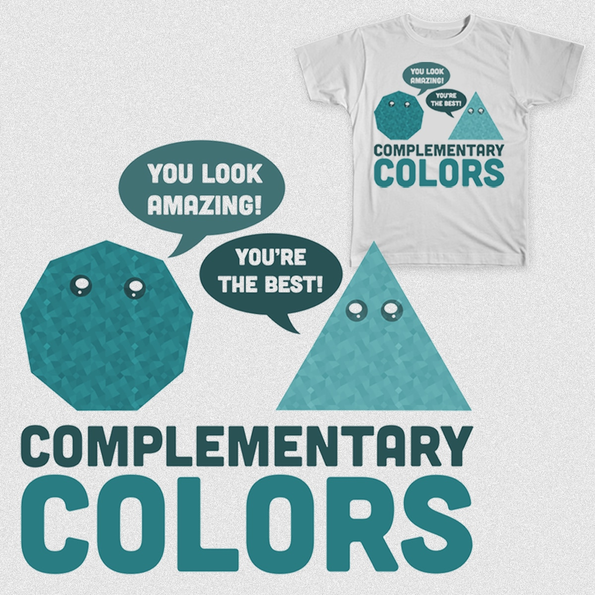 Complementary Colors by topherbanks23 on Threadless