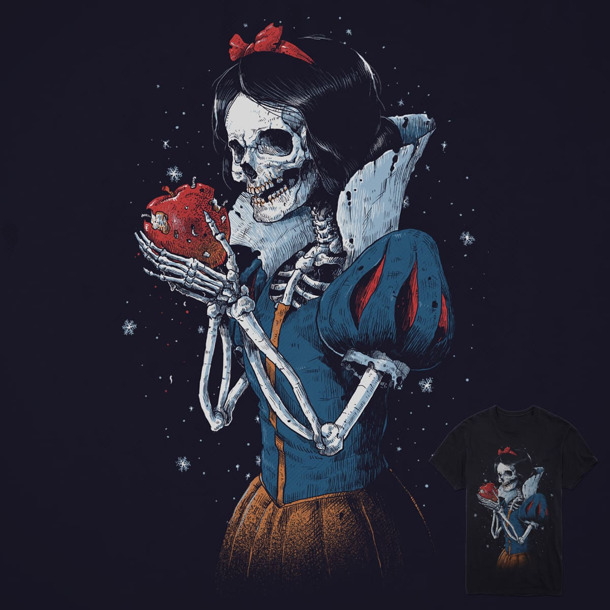 Dead Snow White by digitalcarbine on Threadless