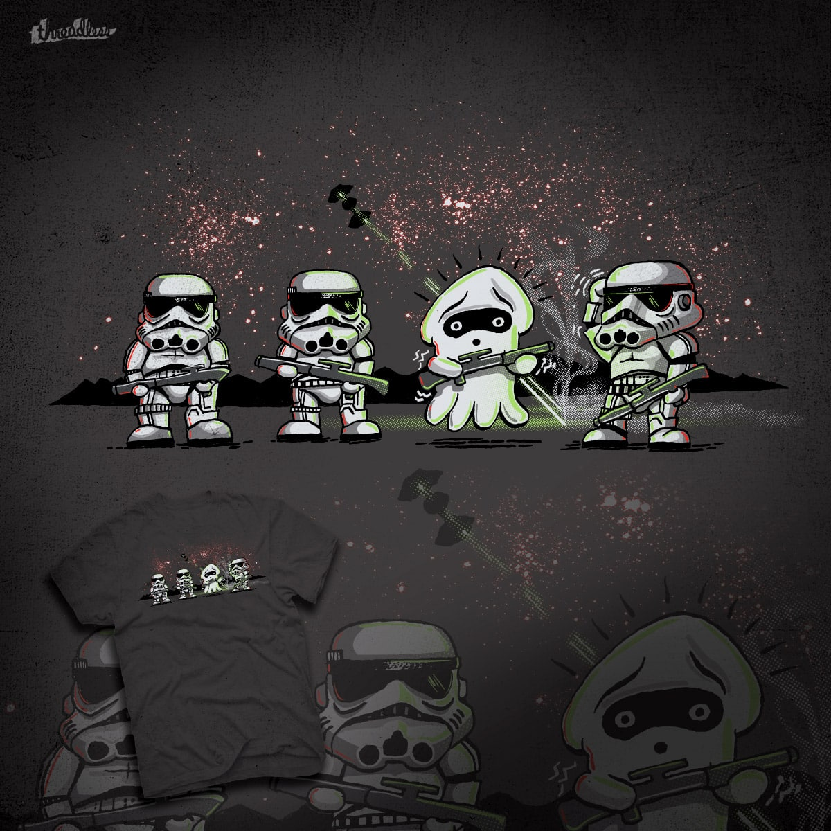 Blooper Trooper by collinvh on Threadless