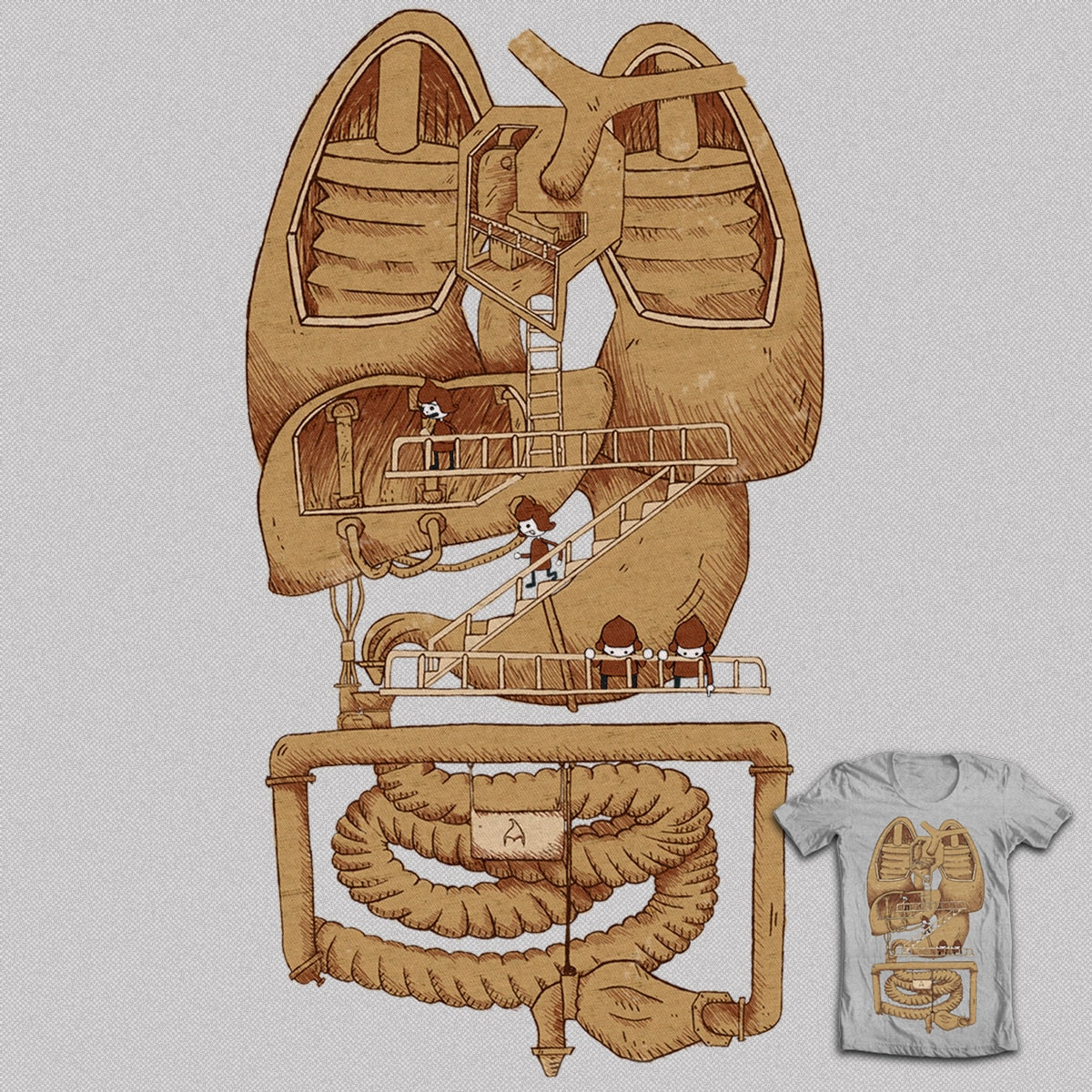 Chocolate Factory. by BouquinisteRip on Threadless