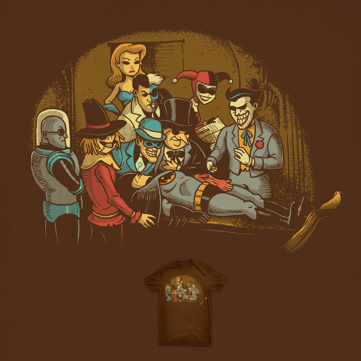 The Anato my Lecture of Dr. Joker by ben chen on Threadless
