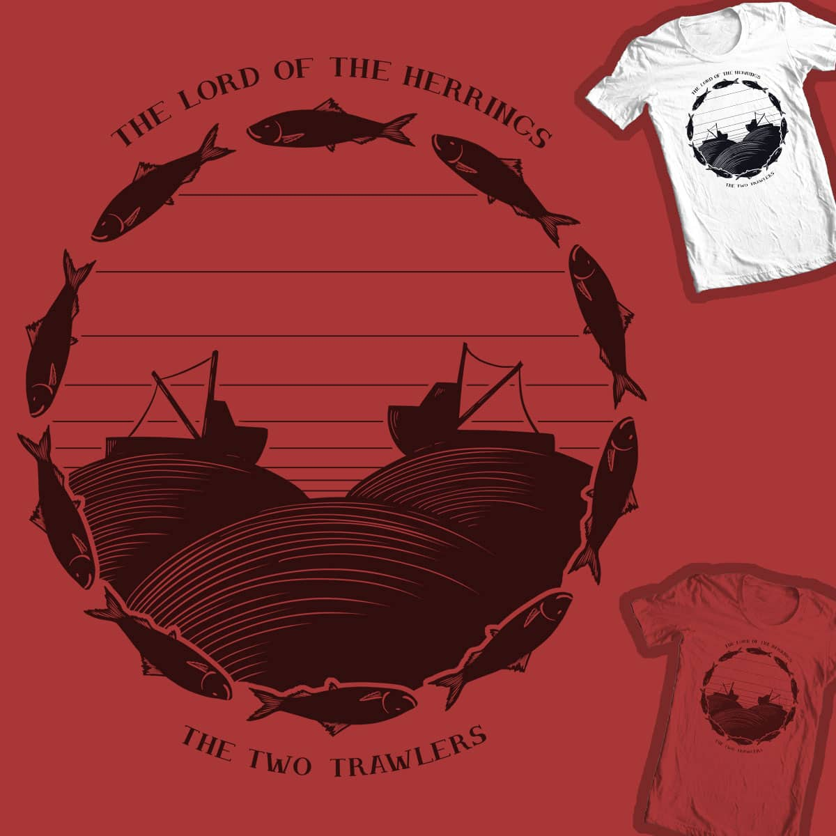 The Lord of the Herrings: Book 2 by P0ckets on Threadless