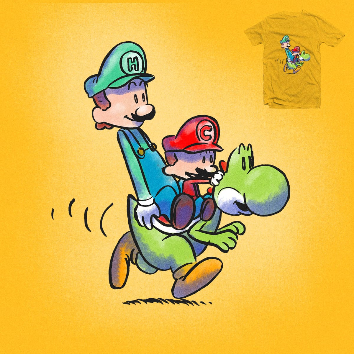 It's a-me, Calvin? by nerrik and goliath72 on Threadless