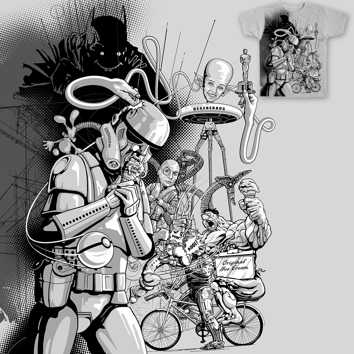 DEGENEROUS DAY by NARNIAZ on Threadless