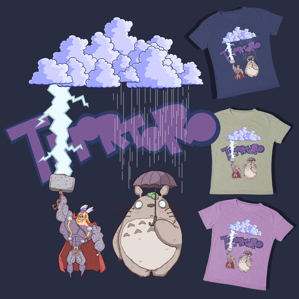 Thortoro by lost-angel-less on Threadless