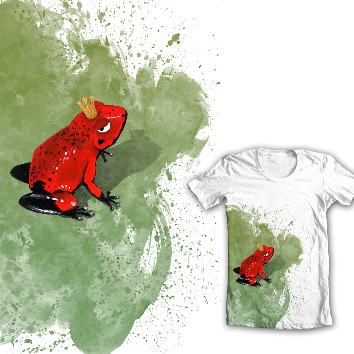 Never kiss a frog! by WhoKnowsEverything on Threadless