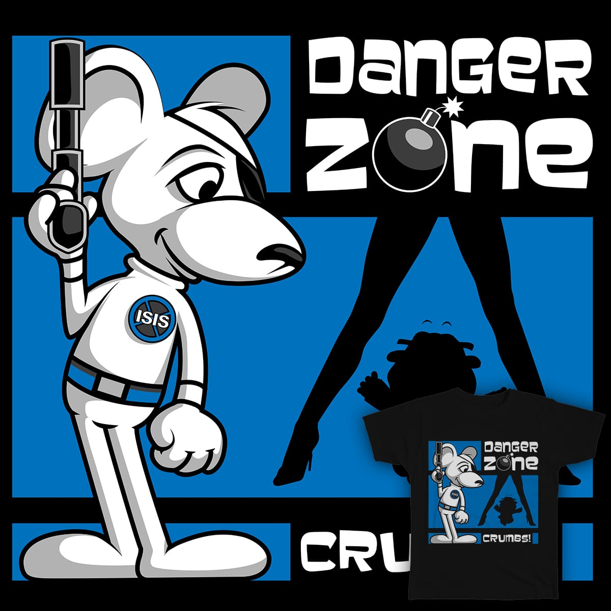 Danger Zone by SwanStarDesigns on Threadless