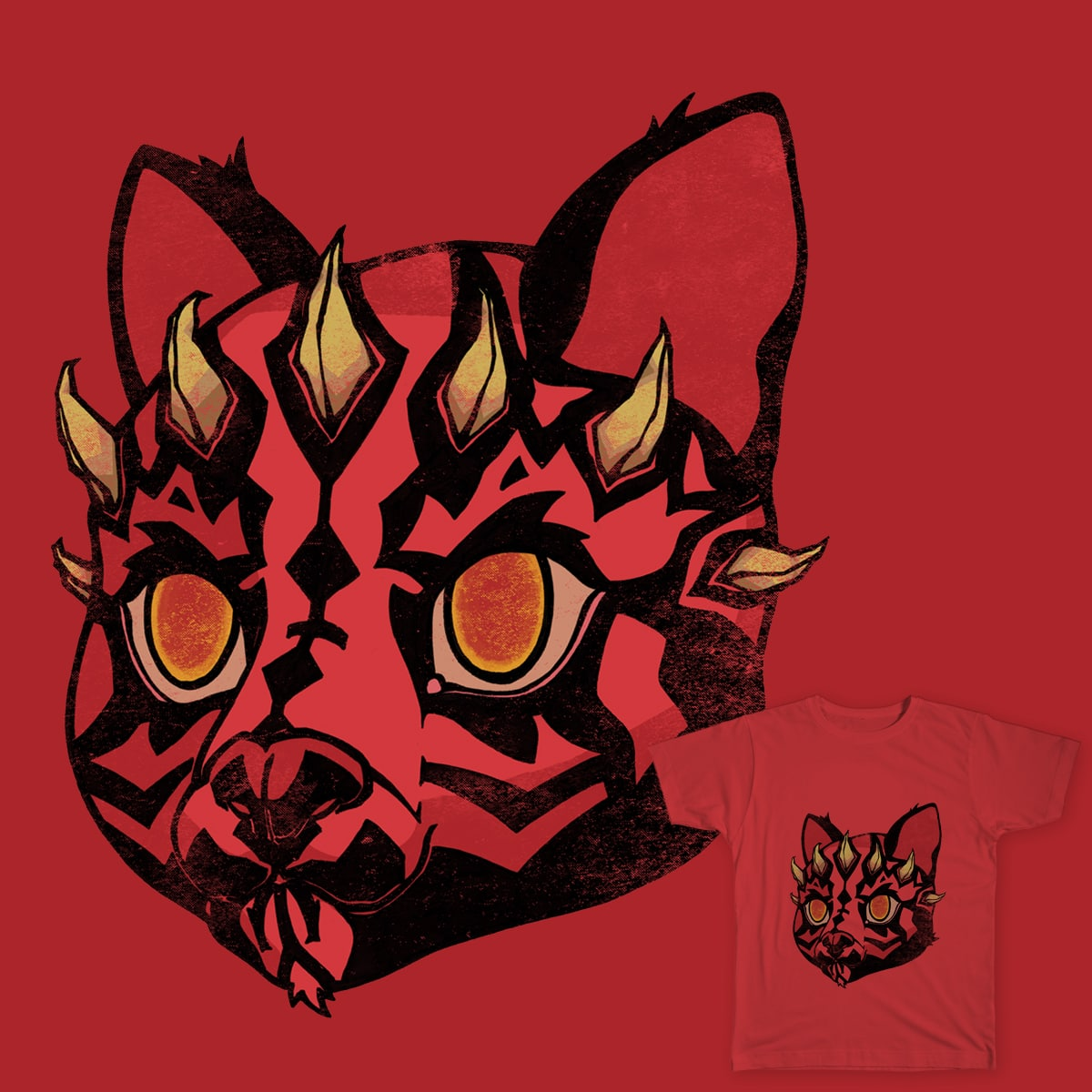 Darth Kitty by juanpa.tovar on Threadless